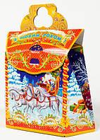 """Новогодняя упаковка из картона НОВИНКА 2016 """"Саквояж 700г.""""скидка только для оптовиков"""