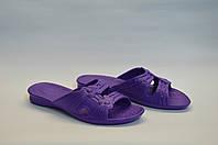 Шлепанцы женские оптом фиолетовые пена