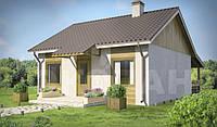 Дачный дом из sip-панелей