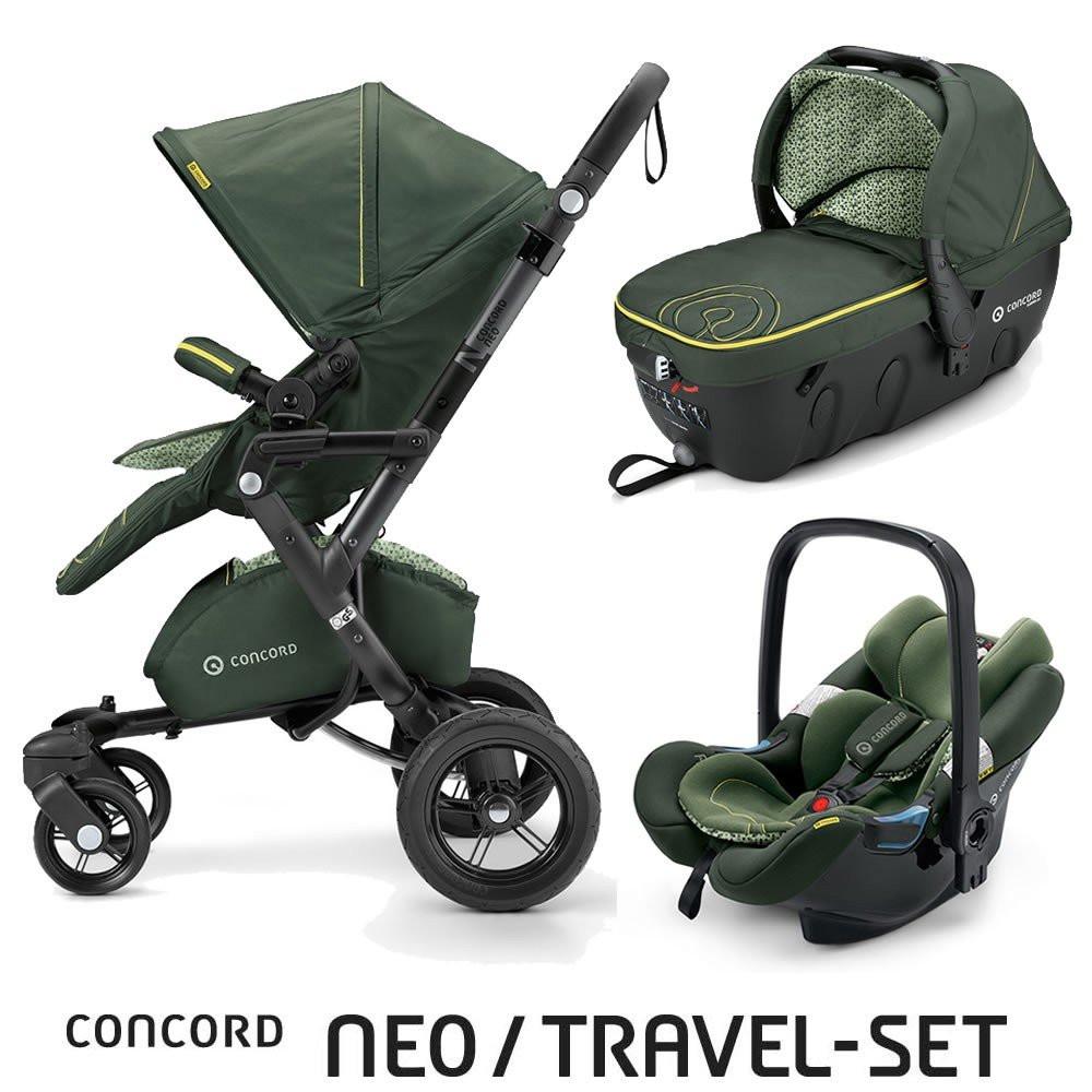 Коляска 3в1 Concord Neo Travel Set Limited Edition