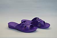 Шлепанцы женские Украина оптом банные ПЖ - 10 фиолетовые, фото 1