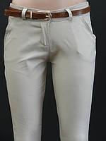 Молодежные женские брюки (батал)
