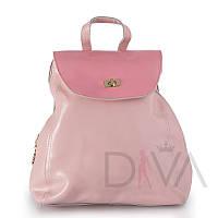 Рюкзак женский из натуральной кожи 65185L.pink