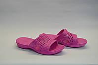 Шлепанцы женские оптом розовые пляжные ПЖ - 04, фото 1