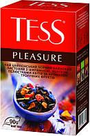 Чай Tess Pleasure (черный с шиповником) 90 г.