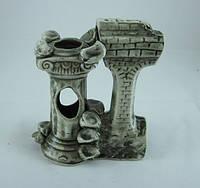 Керамика для аквариума Гротик-колонна, 14 см., фото 1