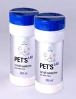 Collar. Pets Lab Сухой шампунь для собак, котов и грызунов - 180 гр
