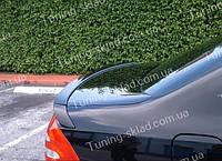 Спойлер Mercedes W211 (спойлер на крышку багажника Мерседес W211 из трех частей)