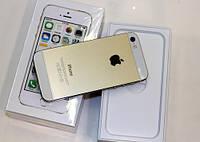 Смартфон Iphone 5S Neverlock 16gb Gold  + чехол и стекло, фото 2