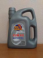 Моторное масло SEA HORSE 15W-40 (4л)