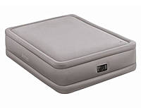 Двуспальная кровать Intex Foam Top Bed (Queen) 152х203х51см. со встроенным насосом 220V.