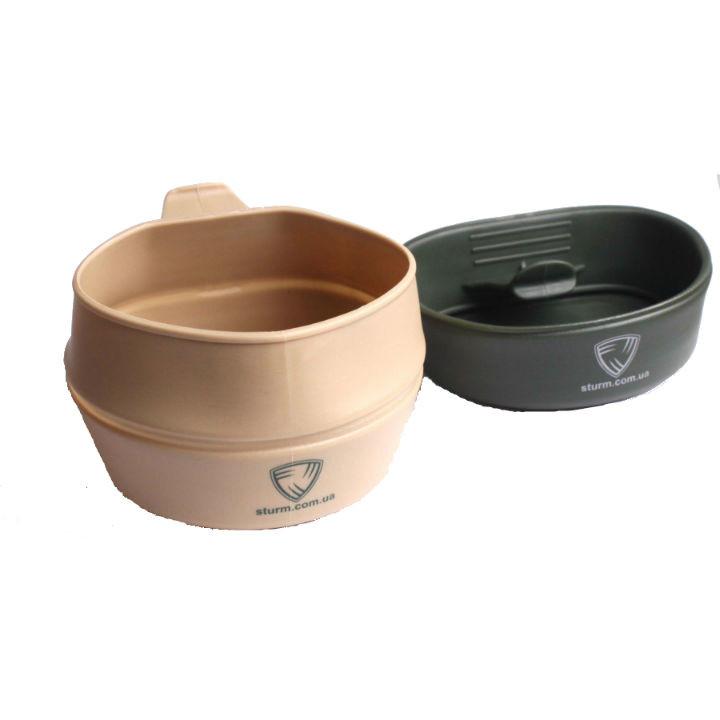 Кружка Helikon резиновая - Olive 250 мм