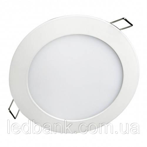 Светильник светодиодный  Biom PL-R6 W 6Вт DownLight круглый белый , фото 1