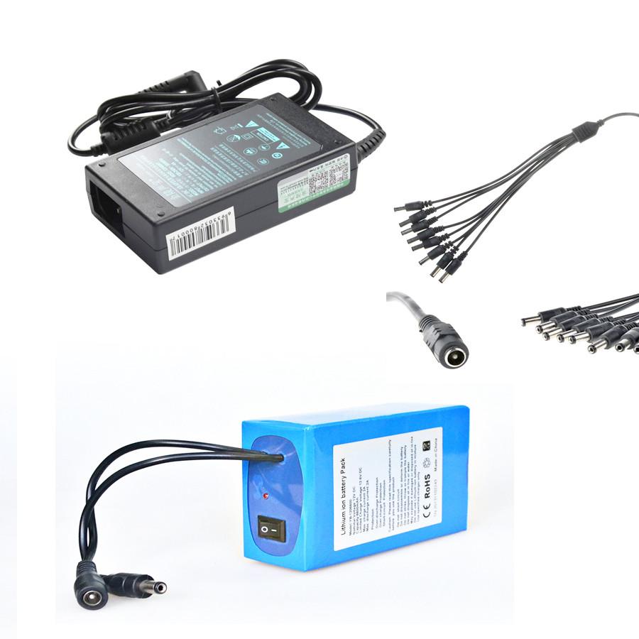 Аккумулятор бесперебойного питания UPS-5-17000 АКББП 12.6v/5А, батарея 17000mah