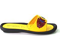 Сабо женские Masi Maluo желтые натуральная кожа без каблука