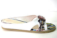Сабо женские Masi Maluo белые натуральная кожа без каблука