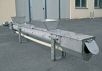 Безвальный шнековый уплотнитель для очистки сточных вод PSA–20