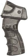 Рукоятка пистолетная CAA для Rem870 с переходником для трубы приклада, черная