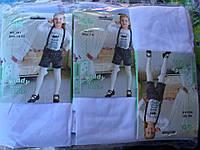 Детские белые капроновые колготки оптом 1-10 лет, фото 1