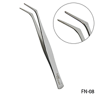 Стальной пинцет для зажима ногтей Lady Victory LDV FN-08 /53-1