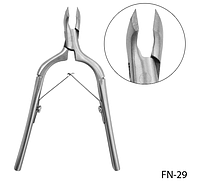 Кусачки для обрезного маникюра с укороченной рабочей поверхностью Lady Victory LDV FN-29 /70-3