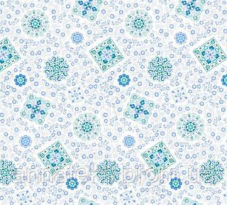 Ткань ситцевая белоземельнаяТейково наб.р.18506/2 Ш.95см. пл 105г/кв.м. арт 5513