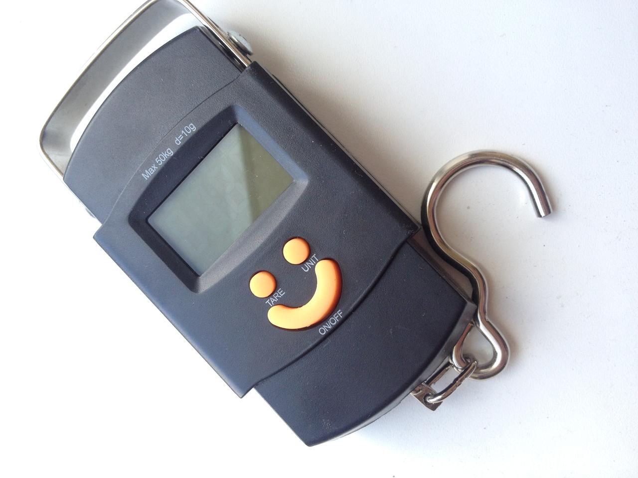 Весы электронные кантер до 5г-50кг с батарейками