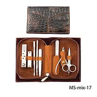Маникюрный набор в стильной упаковке Lady Victory LDV MS-mix-17 /13-9