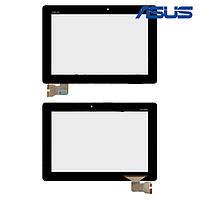 Сенсорный экран (touchscreen) для Asus MeMO Pad FHD 10 LTE ME302KL (K005), черный, оригинал