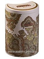 """Чай Basilur """"Белый месяц"""" Зеленый чай 100 грамм"""