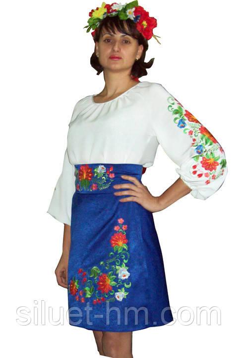 Костюм женский молодёжный украинский