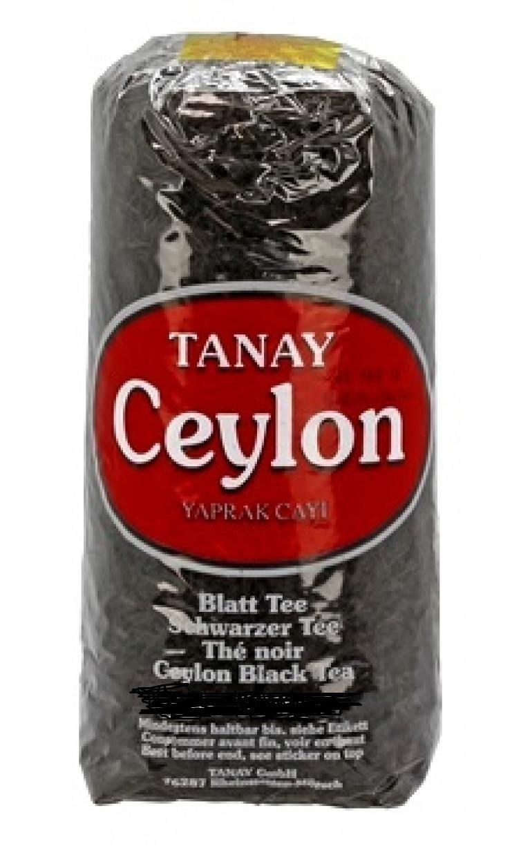 """Чай чёрный крупнолистовой Tanay """"Caylon"""" 250 г"""