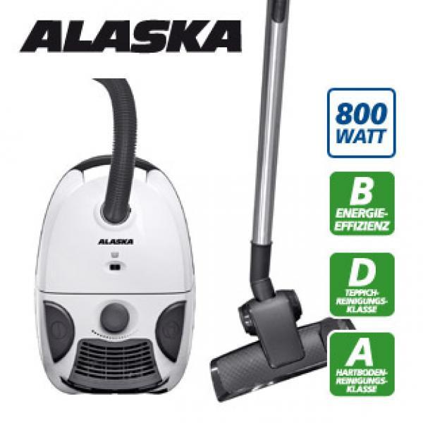 Пылесос 800 Вт ALASKA VC 1500 (СТОК)