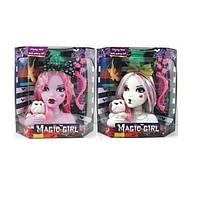 """Голова куклы """"Monster Hight""""  2 вида,с заколками,расческа,животные, в кор. 30*17*31см"""