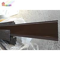 Вагонка ШОКОЛАД глянец 100х10х6000 мм С (2000000000671)