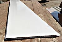 Панель пластиковая 250х8х6000 мм Лак холодно-белый (2000000001586)