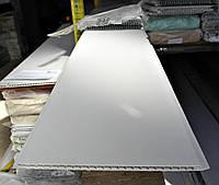 Панель пластиковая 250х8х6000 мм Мат холодно-белая (2000000001616)