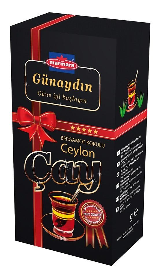 """Чай черный крупнолистовой Gunaydin """"Bergamot Kokulu"""" 400 г"""
