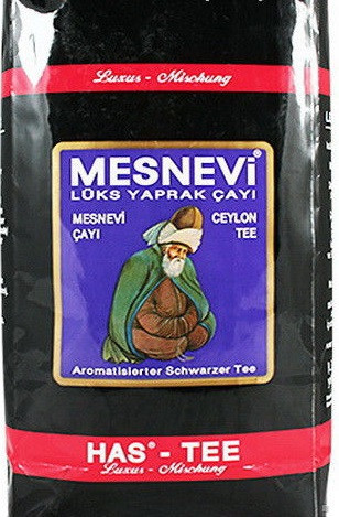 """Чай черный среднелистовой Has-Tee """"MESNEVI"""" 1000 г (Бергамот)"""
