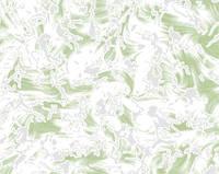Обои бумажные Селин 3004 зеленый (остаток 1 рулон)