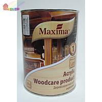 Деревозащитное средство акрил Maxima 0,75 л красное дерево (2000000048482)