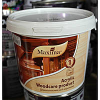 Деревозащитное средство акрил Maxima 2,5 л ореховое дерево (2000000048550)