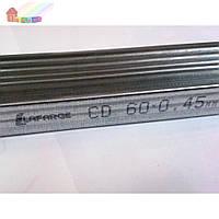 Профиль потолочный CD 60 3 м 0,45 мм 12 шт/уп (2000000049199)
