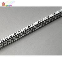 Угол пластиковый перфорированный 2,5 м (2000000049557)