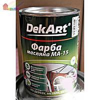 Краска масляная МА-15 красная DekArt 1 кг (4820089418482)