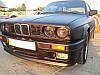 Передний бампер БМВ Е30 М-Тех 2, BMW E30 M Tech 2