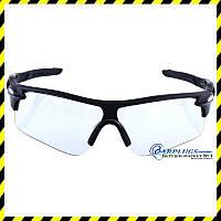 Очки для стрельбы с прозрачными линзами, UV400 защита.