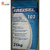 Клеевая смесь для плитки MULTI 102 KREISEL морозостойкая 25 кг (42) (2000000053141)