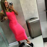 Женское  яркое платье-майка GIVENCHY (4 цвета)