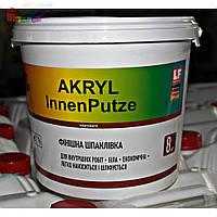 Шпаклевка финишная акриловая TOTUS AKRYL InnenPutz 8 кг (2000000053721)